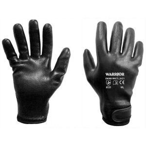 Warrior Fully Coated Black Nitrile Nitrile Thermal Lined Gloves-0