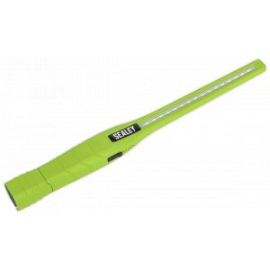 Sealey LED3604G Rechargeable 360° Slim Inspection Lamp 16 SMD LED + 1W LED Green Lithium-ion-0