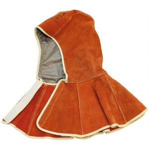Sealey SSP145 Leather Welding Safety Hood Heavy-Duty-0