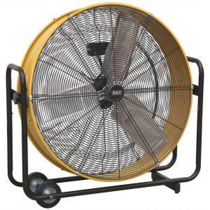 "Sealey HVD30110V Industrial High Velocity Drum Fan 30"" 110V-0"