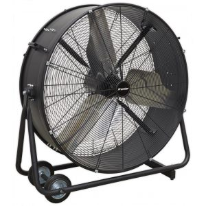"Sealey HVD36P Industrial High Velocity Drum Fan 36"" 230V - Premier-0"