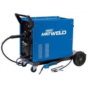Draper 230V / 400V Gas / Gasless Turbo MIG Welder 250A 71094-0