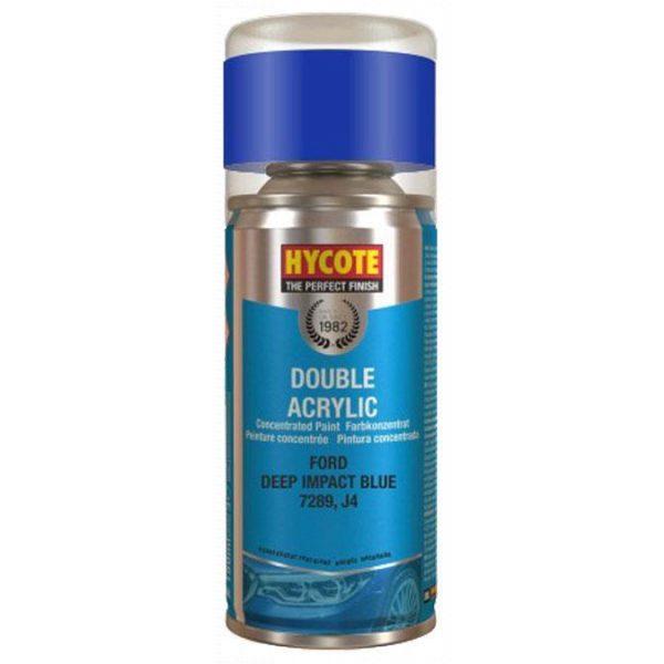 Hycote Ford Deep Impact Blue Spray Paint 150ml XDFD730-0