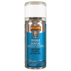 Hycote Land Rover Fuji White Spray Paint 150ml XDLR603-0