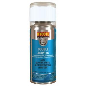 Hycote Audi Glacier White Spray Paint 150ml XDAD605-0