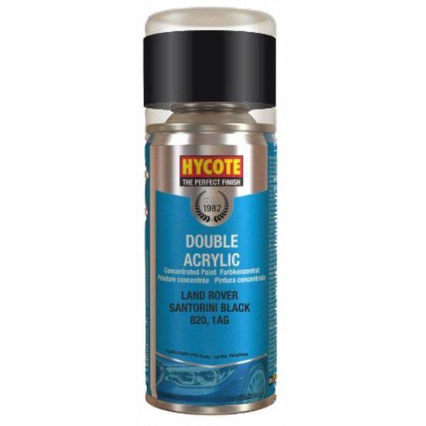 Hycote Land Rover Santorini Black Spray Paint 150ml XDLR604-0