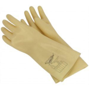 Sealey HVG1000VL Electrician's Safety Gloves 1kV Pair-0