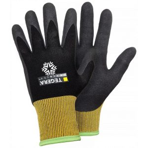 Tegera 8810 Infinity Winter Fleece Lined Nitrile Coated Work Gloves-0