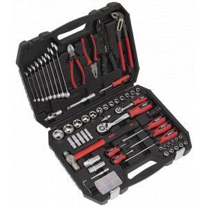 Sealey AK7400 Mechanic's Tool Kit 100pc-0