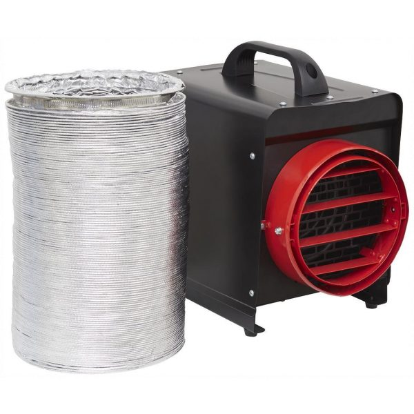 Sealey DEH3001 Industrial Fan Heater 3kW 230v 16A-0