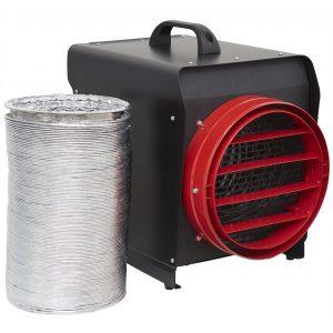 Sealey DEH10001 Industrial Fan Heater 10kW 3 Phase 32A-0