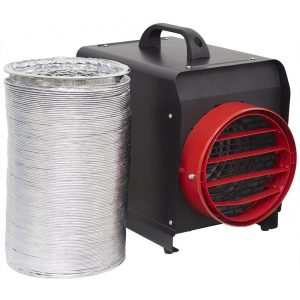 Sealey DEH5001 Industrial Fan Heater 5kW 3 Phase 16A-0