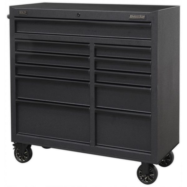Sealey AP4111BE Rollcab 11 Drawer 1040mm with Soft Close Drawers-68854