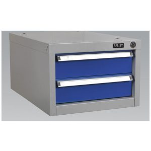 Sealey API15 Double Drawer Unit for API Series Workbenches-0