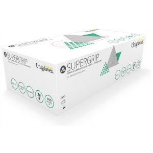Box 100 Unigloves Super Grip Latex Disposable Gloves AQL 1.5-0