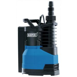 Draper 230V 750W Submersible Water Pump With Integrated Float Switch 216 L/Min 98918-0