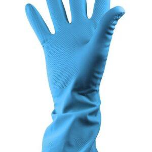 Ph Shield 2 Blue Latex Rubber Household Gloves-0