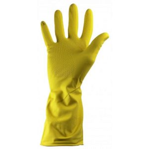 Ph Shield 2 Yellow Latex Rubber Household Gloves-0