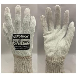 PH Polyco Pure Dex Anti Static PU Palm Coated Gloves-0