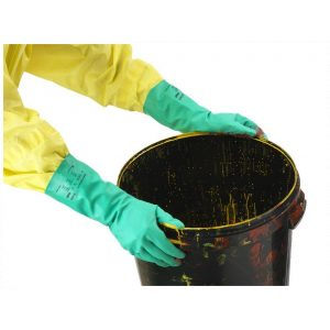 Ansell AlphaTec Solvex 37-675 Green Nitrile Chemical Resistant Gloves-0