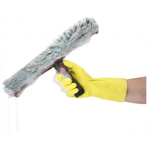 Ansell AlphaTec 87-190 Yellow Latex Gloves-0