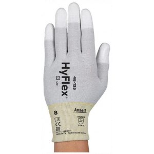 Ansell HyFlex 48-135 PU Fingertip Coated ESD Gloves-0