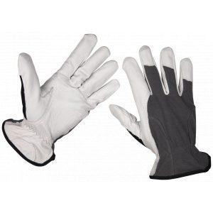 Sealey 9136L Super Cool Hide Gloves Large - Pair-0