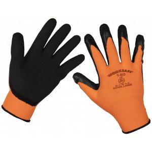Sealey 9140XL Foam Latex Gloves (X-Large) - Pair-0