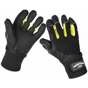 Sealey 9142L Anti-Vibration Gloves Large - Pair-0