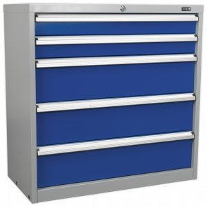 Sealey API9005 Industrial Cabinet 5 Drawer-0