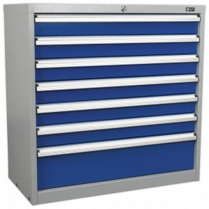 Sealey API9007 Industrial Cabinet 7 Drawer-0
