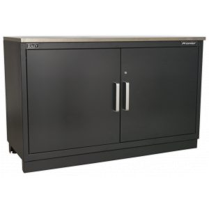 Sealey APMS02 Modular Floor Cabinet 2 Door 1550mm Heavy-Duty-0