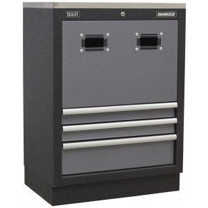 Sealey APMS63 Modular Reel Cabinet 680mm-0