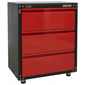 Sealey APMS82 Modular 3 Drawer Cabinet with Worktop 665mm-0