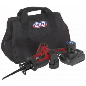 Sealey CP1208KIT Cordless Reciprocating Saw 12V - 2 Batteries-0