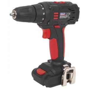 Sealey CP14VLD Cordless Drill/Driver Ø10mm 14.4V 1.3Ah Lithium-ion 2-Speed-0