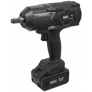 """Sealey CP1812 Cordless Impact Wrench 18V 4Ah Lithium-ion 1/2""""Sq Drive-0"""