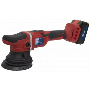 Sealey CP18VOP Cordless Orbital Polisher Ø125mm 18V Lithium-ion-0