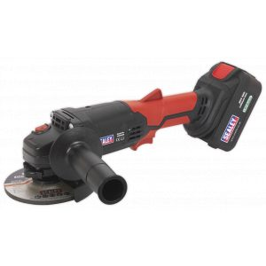 Sealey CP20VAG Cordless Angle Grinder Ø115mm 20V Lithium-ion 1hr Charge-0