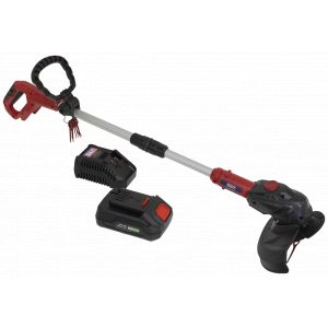 Sealey CS20VCOMBO2 Strimmer Cordless 20V with 2Ah Battery & Charger-0