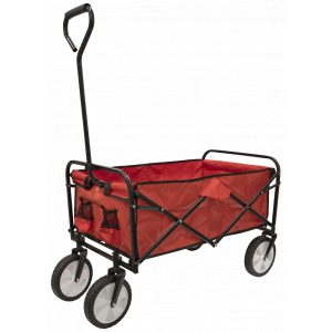 Sealey CST802 Canvas Trolley 70kg Capacity Foldable-0