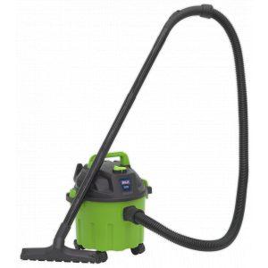 Sealey PC102HV Vacuum Cleaner Wet & Dry 10L 1000W/230V - Hi-Vis Green-0