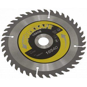 Sealey TS16540 Trade Circular Saw Blade Ø165 x 20mm - 40tpu-0