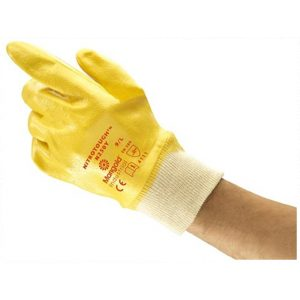 Ansell Marigold N250Y Fully Coated Nitrile Gloves-0