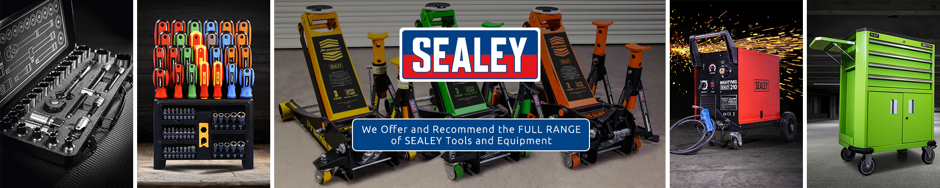 Sealey Tools authorised distributer